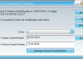 Disk Volume Serial Number Changer for Windows 7 - Modify your disk