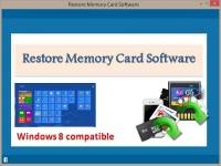 Restore Memory Card Software screenshot