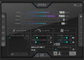 MSI Afterburner screenshot