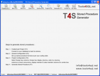 T4S Stored Procedure Generator screenshot