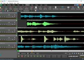 MixPad Free Music Mixer and Recorder screenshot