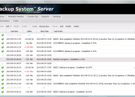 Ferro Backup System screenshot