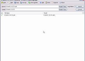 Batch PPTX to PPT Converter screenshot