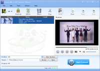 Lionsea WMV To AVI Converter Ultimate screenshot