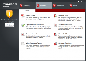 Comodo AntiVirus screenshot