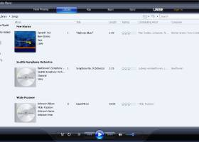 Windows Media Player 11 screenshot