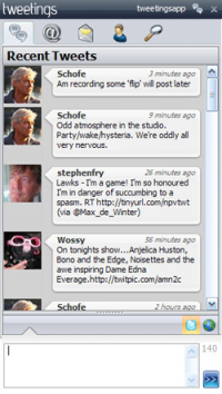 Tweetings x64 screenshot