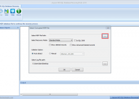 SQL Database Recovery Tools screenshot