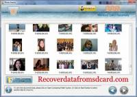 Recover Data from Memory Card screenshot