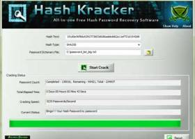 Hash Kracker screenshot