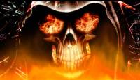 Fire Skull Animated Wallpaper screenshot