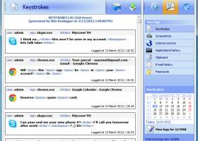Widestep Keylogger screenshot