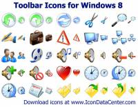 Toolbar Icons for Windows 8 screenshot