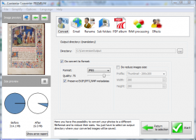 Contenta Converter BASIC screenshot
