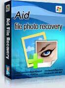 Aidfile photo recovery software screenshot