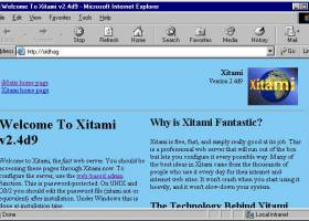 Xitami for Windows screenshot