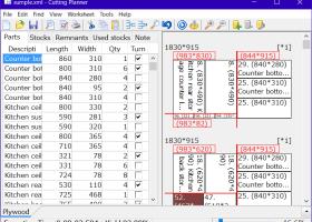 Cut Optimizer Cutting Planner For Windows 7 Sheet