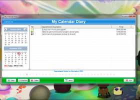 SSuite Office - My Calendar Diary Portable screenshot