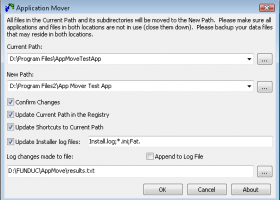 Application Mover x64 screenshot