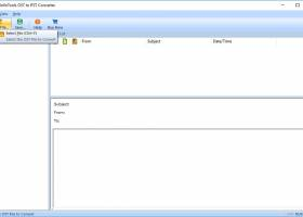 DataInfoTools OST to PST Converter screenshot