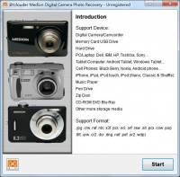 BYclouder Medion Digital Camera Photo Recovery screenshot