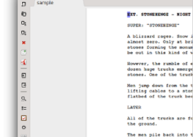 Trelby for Windows 7 - A feature-rich screenwriting program