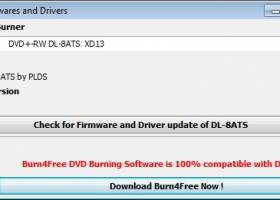 DVD Firmwares and Drivers screenshot