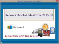 Recover Deleted Files from CF Card screenshot