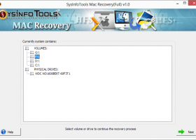 SysInfoTools Mac Data Recovery screenshot