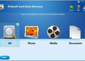 iPubsoft Card Data Recovery screenshot