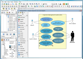 Visual Paradigm for UML Standard Edition screenshot