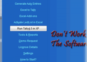 EazyAUTO4 Excel to Tally Data Converter screenshot