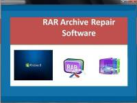 RAR Archive Repair Software screenshot