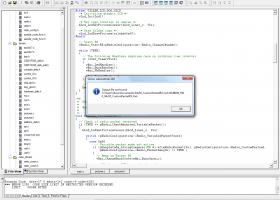 Silicon Laboratories IDE screenshot
