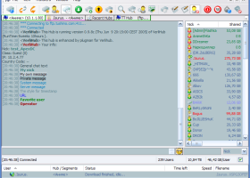 ApexDC++ screenshot