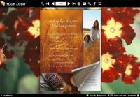 Page Flip Book Close Flower Style screenshot