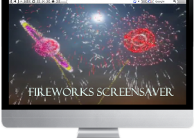 FIREWORKS SUPREME SCREENSAVER screenshot