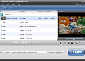 AnyMP4 BD to MKV Backup screenshot