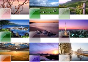 Windows 7 Темы скриншот
