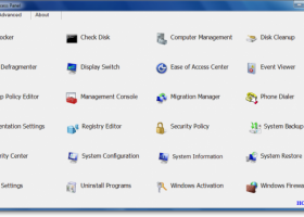Windows Access Panel screenshot