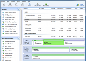 AOMEI Partition Assistant Server Edition screenshot