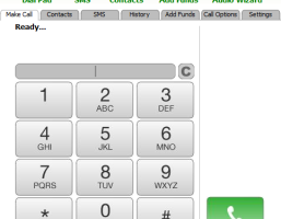 Mobeefree PC Dialer screenshot