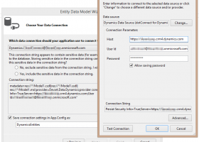 dotConnect for Dynamics CRM screenshot