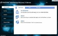 FarStone Total Backup Recovery Server screenshot