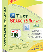 Text Search and Replace Tool screenshot