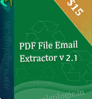 PDF File Email Extractor screenshot