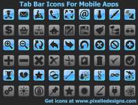 TabBar Icons For Mobile Apps screenshot