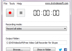 Free Video Call Recorder for Skype screenshot