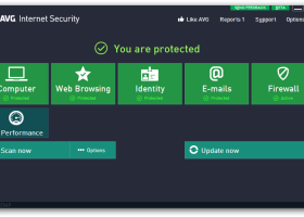 AVG Internet Security 2014 screenshot