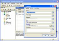 AES Password Manager screenshot
